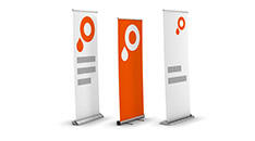 Icoon roll-up banner
